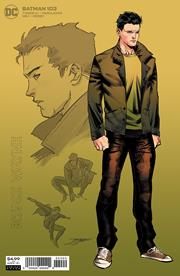 BATMAN #103 INC 1:25 JORGE JIMENEZ BRUCE WAYNE CARD STOCK VAR (11/18/2020) NOTE 2 SHIP DATES