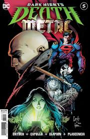 DARK NIGHTS DEATH METAL #5 (OF 7) CVR A GREG CAPULLO EMBOSSED FOIL (11/17/2020)