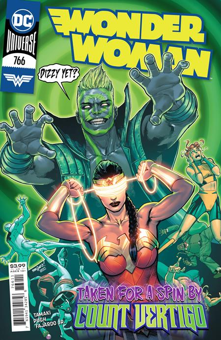 WONDER WOMAN #766 CVR A DAVID MARQUEZ (11/10/2020) BACKISSUE