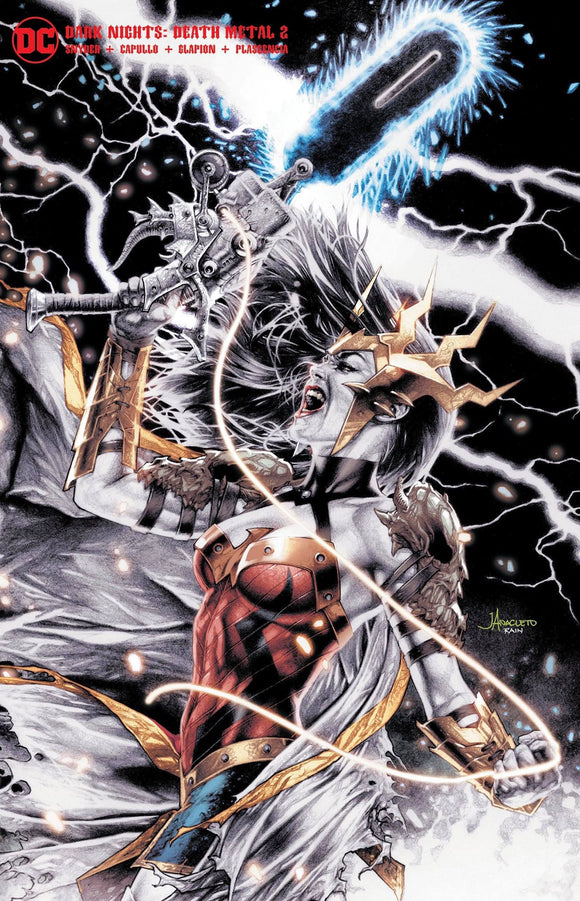 DARK NIGHTS DEATH METAL #2 (OF 6) UNKNOWN COMICS JAY ANACLETO EXCLUSIVE COLOR SPLASH VAR (07/14/2020) BACKISSUE