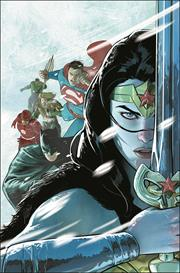 JUSTICE LEAGUE ENDLESS WINTER #1 (OF 2) CVR A MIKEL JANIN (ENDLESS WINTER) (12/01/20)