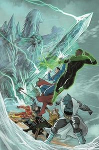 JUSTICE LEAGUE ENDLESS WINTER #2 (OF 2) CVR A MIKEL JANIN (ENDLESS WINTER)  (12/29/20)