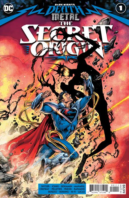 DARK NIGHTS DEATH METAL THE SECRET ORIGIN #1 (ONE SHOT) CVR A IVAN REIS & JOE PRADO (12/01/20)