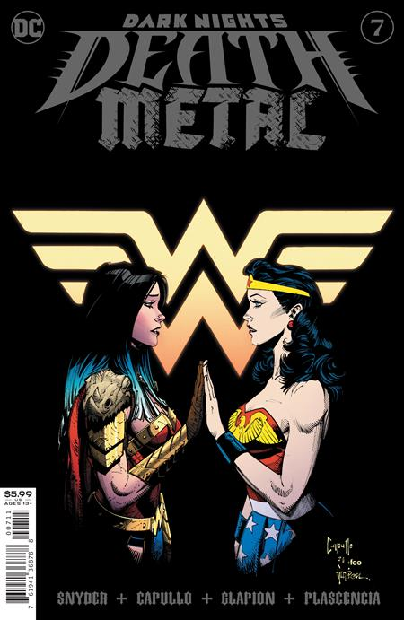 DARK NIGHTS DEATH METAL #7 (OF 7) CVR A GREG CAPULLO FOIL EMBOSSED(12/22/2020) DELAYED (1/5/2021) BACKISSUE