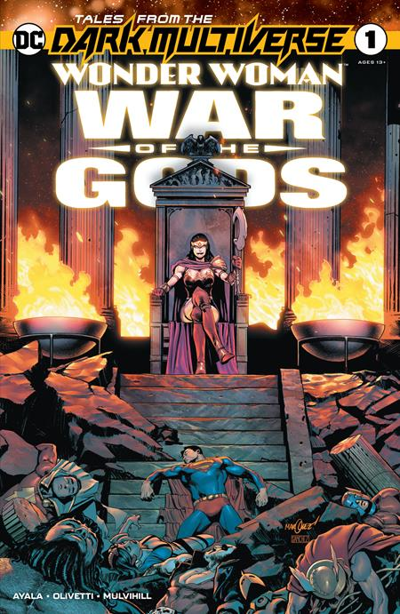 TALES FROM THE DARK MULTIVERSE WONDER WOMAN WAR OF THE GODS #1 (ONE SHOT) BACKISSUE