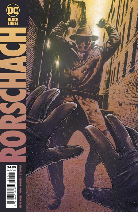 RORSCHACH #4 (OF 12) CVR B TRAVIS CHAREST (MR) (1/12/2021)