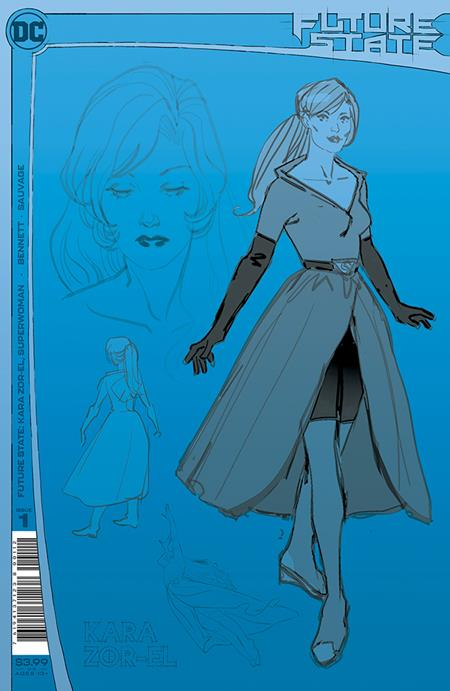 FUTURE STATE KARA ZOR-EL SUPERWOMAN #1 Second Printing (2/9/2021)