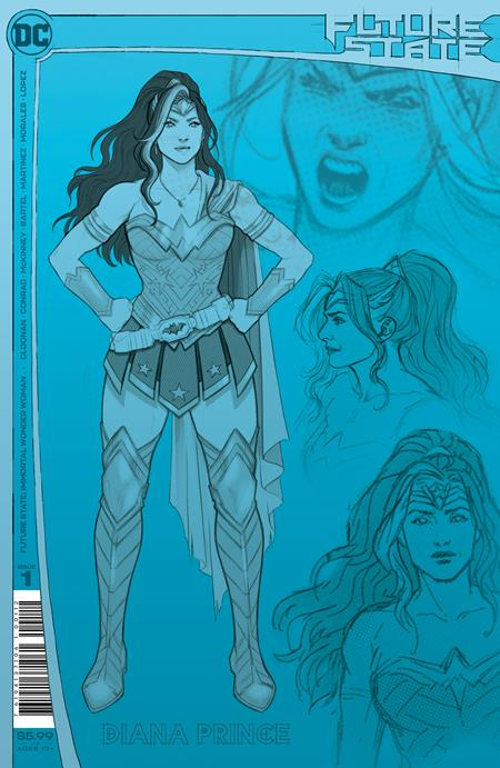 FUTURE STATE IMMORTAL WONDER WOMAN #1 (OF 2) Second Printing (2/16/2021) BACKISSUE