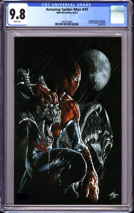 AMAZING SPIDER MAN #47 DELL-OTTO VIRGIN EXCLUSIVE (8/26/2020) CGC 9.8