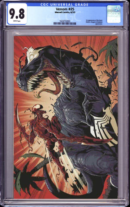 VENOM #25 3RD PTG EXCLUSIVE VIRGIN BAGLEY VAR (10/19/2020) CGC 9.8