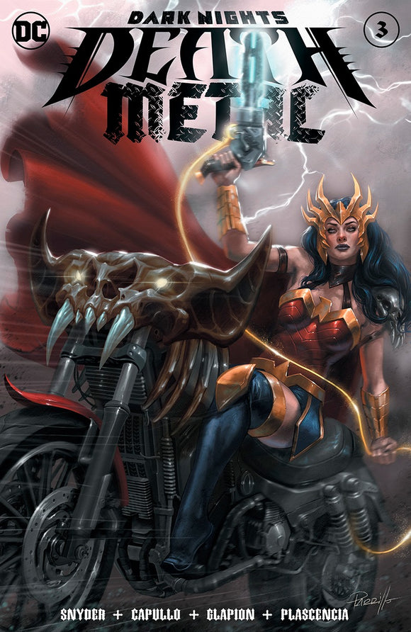 DARK NIGHTS DEATH METAL #3 (OF 6) LUCIO PARILLO EXCLUSIVE (08/12/20)