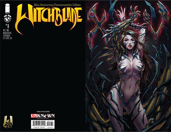 WITCHBLADE #1 25TH ANNV ED UNKNOWN COMICS CREEES VIRGIN EXCLUSIVE (08/10/20) BACKISSUE