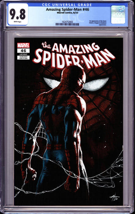 AMAZING SPIDER MAN #46 DELL-OTTO EXCLUSIVE (10/12/2020) CGC 9.8