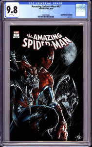 AMAZING SPIDER MAN #47 DELL-OTTO EXCLUSIVE (8/26/2020) CGC 9.8 INSTOCK BACKISSUE