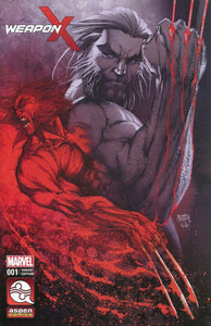 WEAPON X #1 MICHAEL TURNER AND PETER STEIGERWALD LOGAN B VARIANT BACKISSUE
