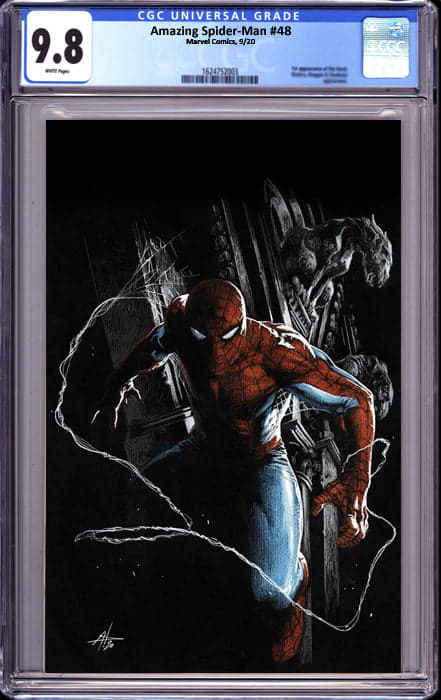 AMAZING SPIDER MAN #48 DELL-OTTO VIRGIN EXCLUSIVE (11/9/2020) CGC 9.8