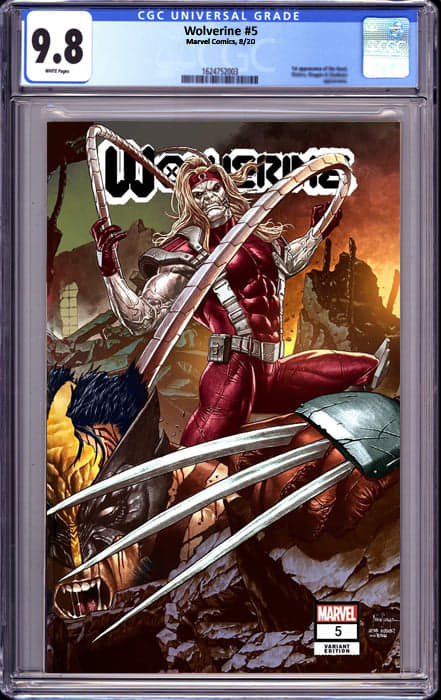 WOLVERINE #5 UNKNOWN COMICS MICO SUAYAN EXCLUSIVE VAR (11/02/2020) CGC 9.8
