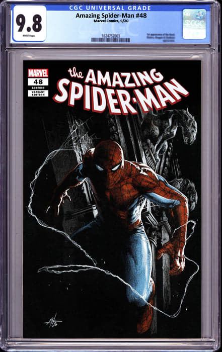 AMAZING SPIDER MAN #48 DELL-OTTO EXCLUSIVE (11/9/2020) CGC 9.8