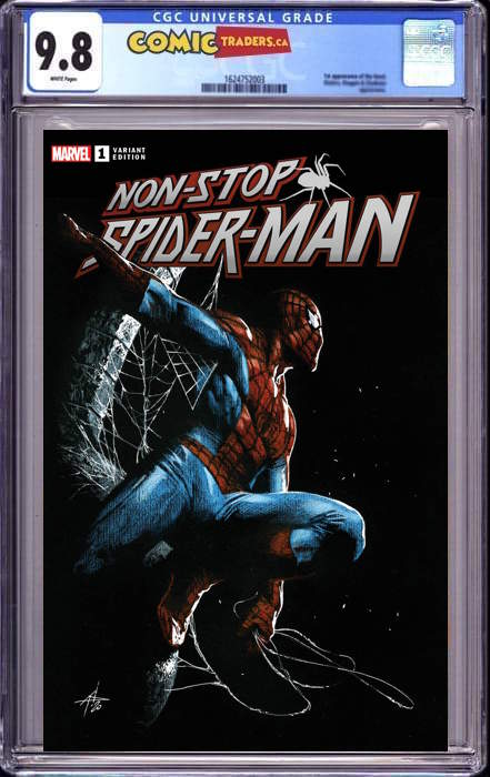 NON-STOP SPIDER-MAN #1 GABRIELLE DELLOTTO EXCLUSIVE (06/03/2021) CGC 9.8
