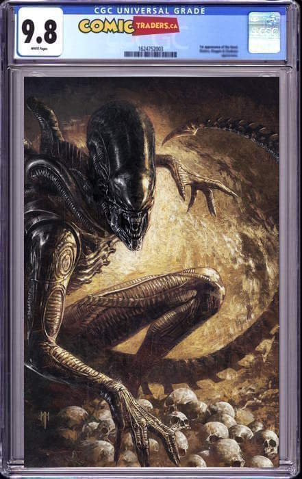 ALIEN #1 MARCO MASTRAZZO VIRGIN ILLUMINATI EXCLUSIVE (06/24/2021)  CGC 9.8