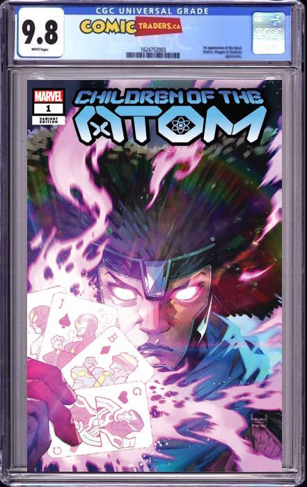 CHILDREN OF ATOM #1 KAEL NGU ILLUMINATI EXCLUSIVE SHIP DATE (7/10/2021) CGC 9.8