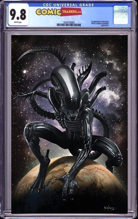 ALIEN #1 MICO SAUYAN VIRGIN ILLUMINATI EXCLUSIVE (06/24/2021)  CGC 9.8