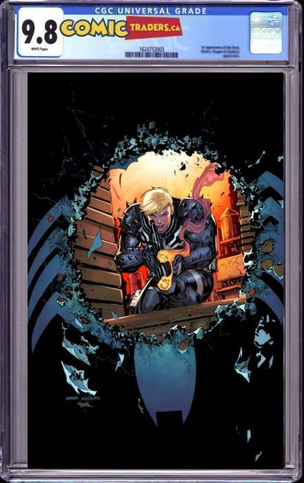 VENOM #29 KEN LASHLEY VIRGIN EXCLUSIVE (10/21/20) CGC 9.8