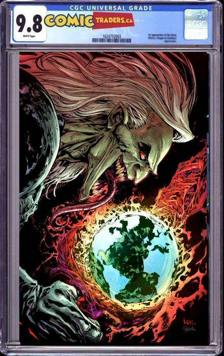 WEB OF VENOM EMPYRES END #1 KEN LASHLEY UNKNOWN ILLUMINATI VIRGIN EXCLUSIVE (10/14/2020) CGC 9.8