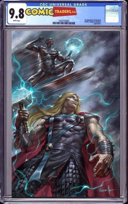 THOR #8 UNKNOWN ILLUMINATI PARILLO VIRGIN EXCLUSIVE (01/07/20) CGC 9.8