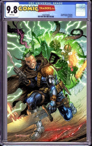 CABLE #5 TYLER KIRKHAM UNKNOWN ILLUMINATTI VIRGIN EXCLUSIVE XOS (1/14/2021) CGC 9.8