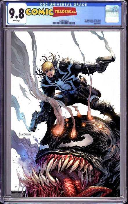 VENOM #29 TYLER KIRHAM UNKNOWN COMICS SECRET VIRGIN EXCLUSIVE 1/21/2021 CGC 9.8