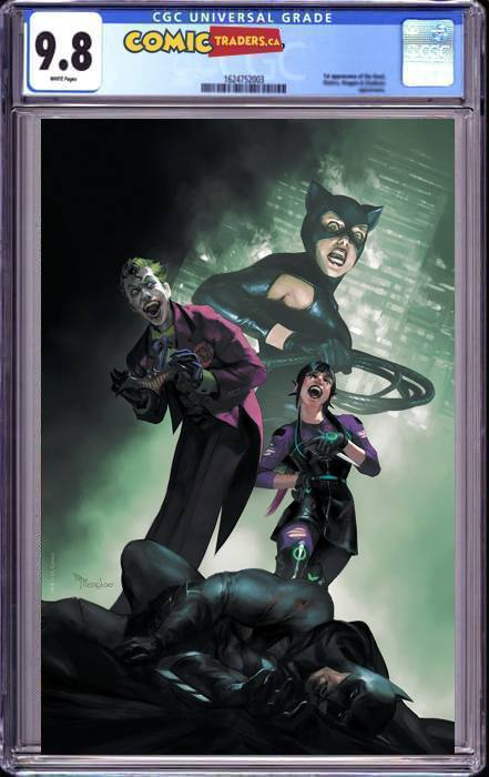 BATMAN #100 MIGUEL MERCADO ILLUMINATI VIRGIN EXCLUSIVE (JOKER WAR) (12/6/2020) CGC 9.8