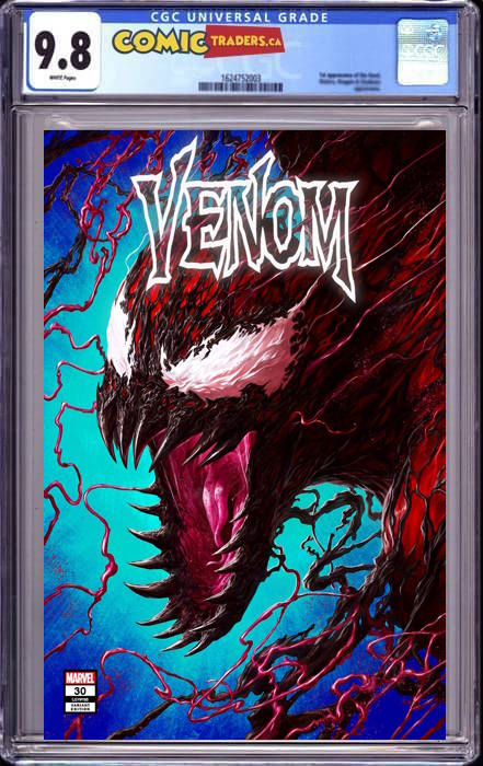 VENOM #30 RAPOZA UNKNOWN ILLUMINATI EXCLUSIVE 1/18/2021 CGC 9.8