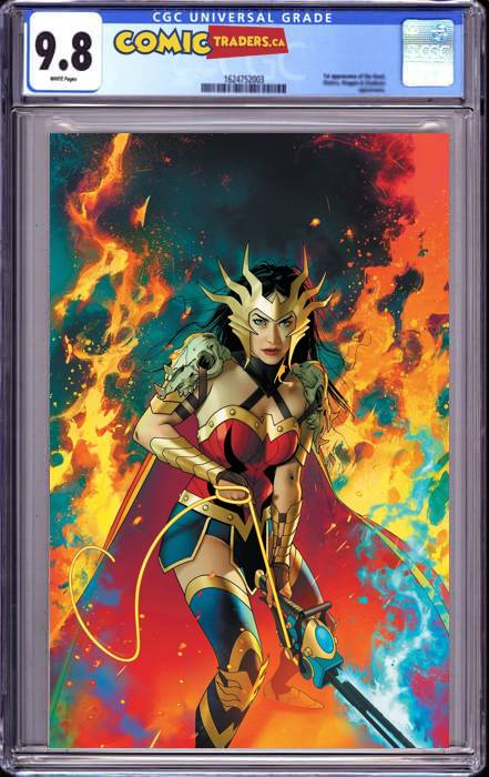 DARK NIGHTS DEATH METAL #5 (OF 7) JOSHUA MIDDLETON ILLUMINATI VIRGIN EXCLUSIVE (10/13/2020) CGC 9.8