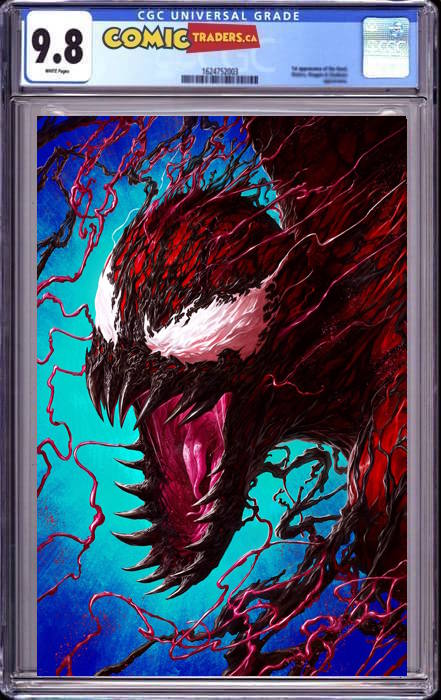 VENOM #30 RAPOZA UNKNOWN ILLUMINATI VIRGIN EXCLUSIVE 1/18/2021 CGC 9.8