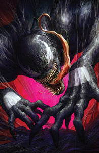 VENOM #28 DAVE RAPOZA UNKNOWN COMICS VIRGIN EXCLUSIVE 09/16/2020 DELAYED (9/23/20) BACKISSUE