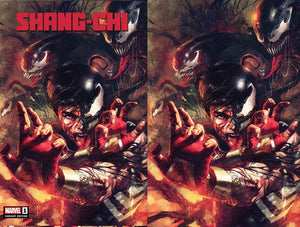 SHANG-CHI #1 (OF 5) VENOMIZED SHANG-CHI EXCLUSIVE BUNDLE (09/30/2020) 2-PACK BACKISSUE