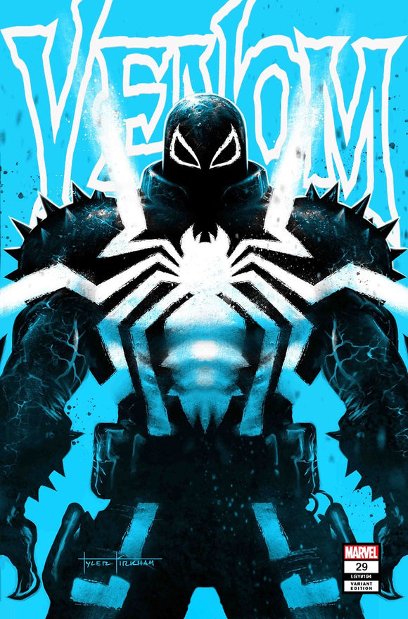 VENOM #29 TYLER KIRHAM UNKNOWN COMICS EXCLUSIVE 10/7/2020 DELAYED (10/21/20) BACKISSUE