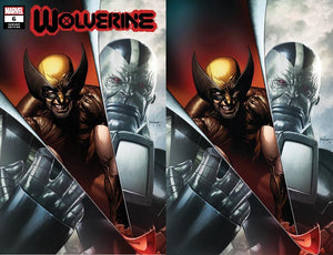 WOLVERINE #6 MICO SAUYAN ILLUMINATTI EXCLUSIVE BUNDLE XOS CVR A (10/07/20) 2-PACK