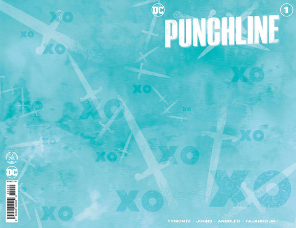 PUNCHLINE SPECIAL #1 (ONE SHOT) EJIKURE UNKNOWN BLANK/B&W EXCLUSIVE (11/10/2020)