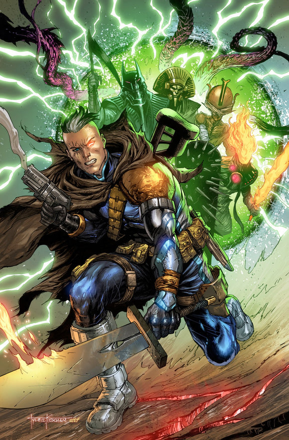 CABLE #5 TYLER KIRKHAM UNKNOWN ILLUMINATTI VIRGIN EXCLUSIVE XOS (10/14/2020) BACKISSUE