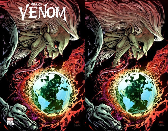 WEB OF VENOM EMPYRES END #1 KEN LASHLEY UNKNOWN ILLUMINATI EXCLUSIVE (10/14/2020) 2-PACK