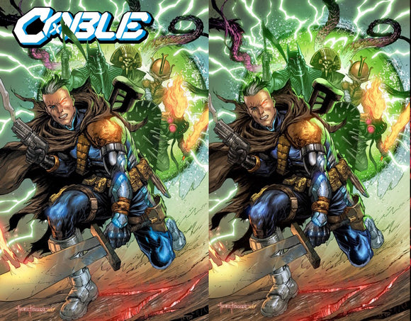 CABLE #5 TYLER KIRKHAM UNKNOWN ILLUMINATTI EXCLUSIVE XOS (10/14/2020) 2-PACK BACKISSUE