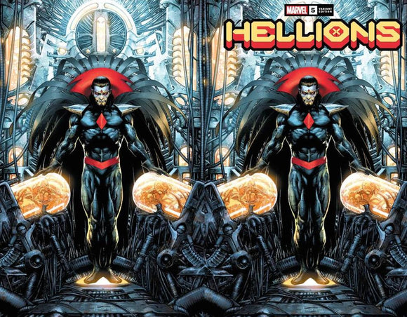 HELLIONS #5 JAY ANACLETO EXCLUSIVE BUNDLE XOS (10/14/2020) 2-PACK BACKISSUE