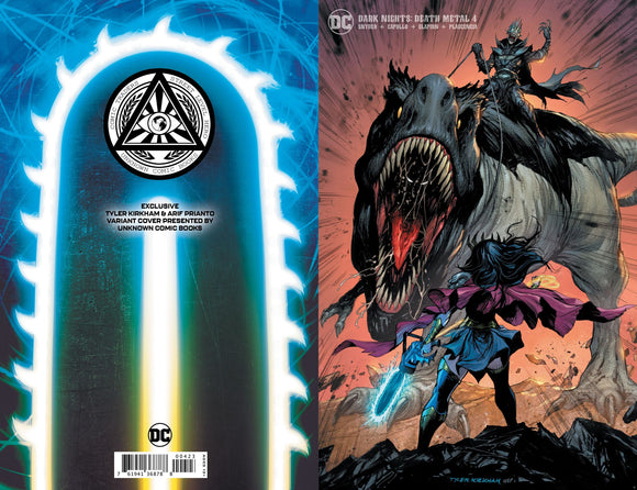 DARK NIGHTS DEATH METAL #4 (OF 7) TYLER KIRKHAM ILLUMINATI MINIMAL EXCLUSIVE (10/13/2020)