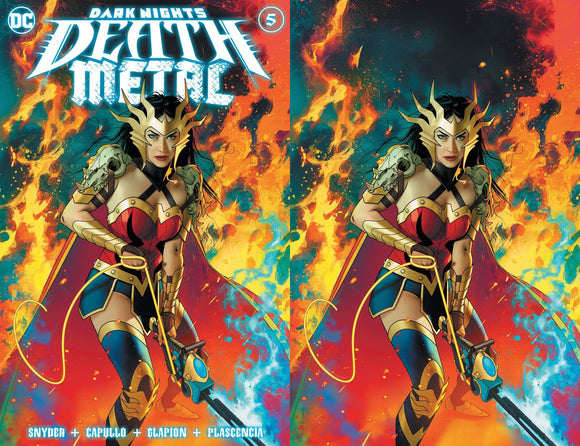 DARK NIGHTS DEATH METAL #5 (OF 7) JOSHUA MIDDLETON ILLUMINATI EXCLUSIVE BUNDLE (10/13/2020) 2-PACK