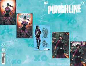 PUNCHLINE SPECIAL #1 (ONE SHOT) MEGA BUNDLE DAVID NAKAYAMA/EJIKURE UNKNOWN EXCLUSIVES +RATIO (11/10/2020) SHIPS 11/24/20 6 BOOKS