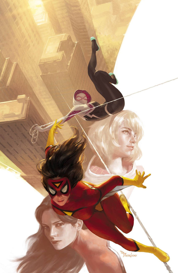 SPIDER-WOMAN #5 MIGUEL MERCADO UNKNOWN ILLUMINATI VIRGIN EXCLUSIVE (10/21/2020) BACKISSUE