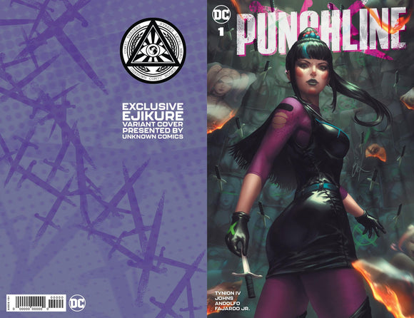 PUNCHLINE SPECIAL #1 (ONE SHOT) EJIKURE UNKNOWN EXCLUSIVE (11/10/2020)