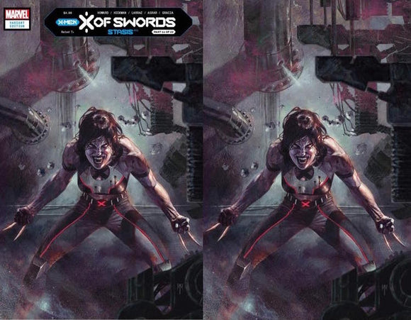 X OF SWORDS STASIS #1 MARCO MASTRAZO  UNKNOWN ILUMINATTI EXCLUSIVE (10/28/2020) 2-PACK